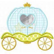 Princess Carriage Applique
