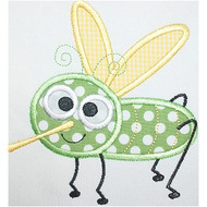 Cute Mosquito Applique