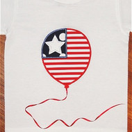 Flag Balloon Applique