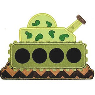 Army Tank Applique
