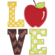 School Love Applique
