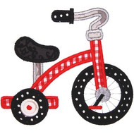 Tricycle Applique