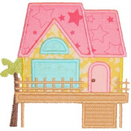 Beach House Applique
