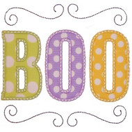 Boo Applique