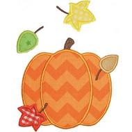 Fall Pumpkin Applique