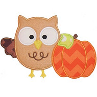 Owl and Pumpkin