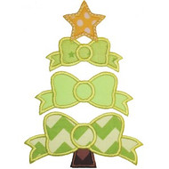 Bow Tree Applique