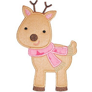 Winter Reindeer Applique