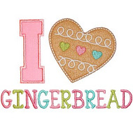 I Heart Gingerbread