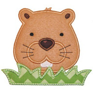 Groundhog Applique
