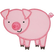 Farm Pig Applique