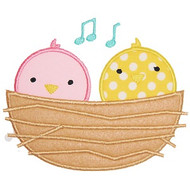 Baby Birds Applique