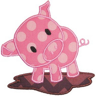 Piggy Applique