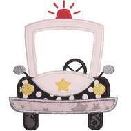 Police Car 2 Applique