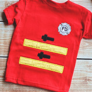 Fireman Applique Set