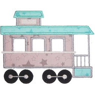 Caboose Applique
