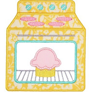 Baking Oven Applique