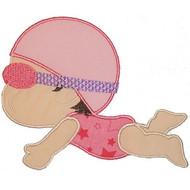 Swim Baby Applique