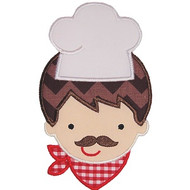 Pizza Chef Applique