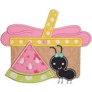 Picnic Basket Applique
