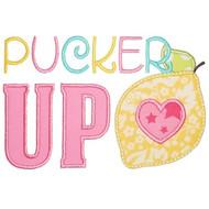 Pucker Up Applique