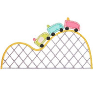 Roller Coaster Applique