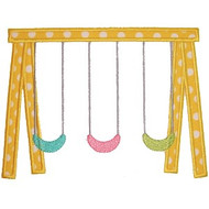 Swing Set Applique