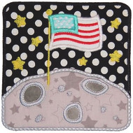 Moon Patch Applique