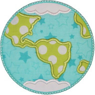 Planet Earth Applique