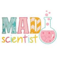 Mad Scientist Applique