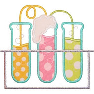 Test Tubes Applique
