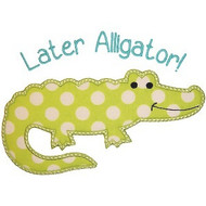 Later Alligator Applique