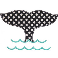 Whale Tail Applique