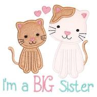 Sibling Kitties Applique