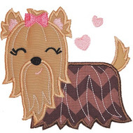 Yorkie Applique