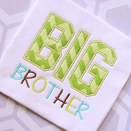Sibling Brother 2 Applique