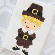 Pilgrim Boy 2 Applique