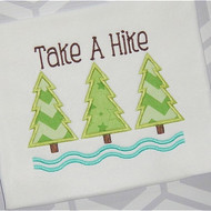 Take A Hike Applique