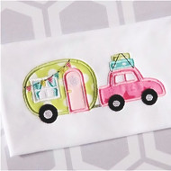 Car Camper Applique