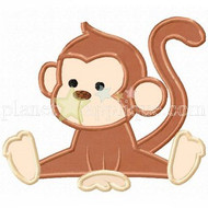 Baby Monkey Applique