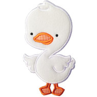 Cute Duck Applique