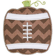 Football Pumpkin