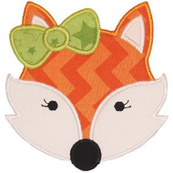 Girly Fox Applique