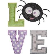 Halloween Love Applique