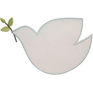 Peace Dove Applique