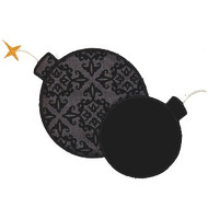 Pirate Bombs Applique