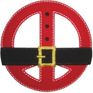 Peace Santa 2 Applique