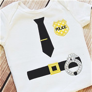 Police Applique Set