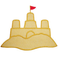 Sand Castle Applique