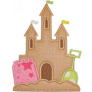 Sand Castle 2 Applique